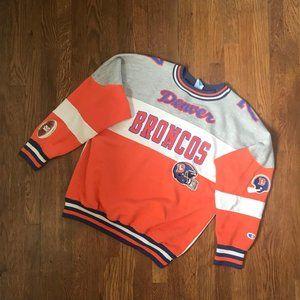 Vintage Champion Elway Denver Broncos Sweatshirt